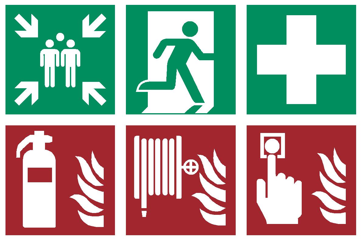 Symbole nach ASR A1.3