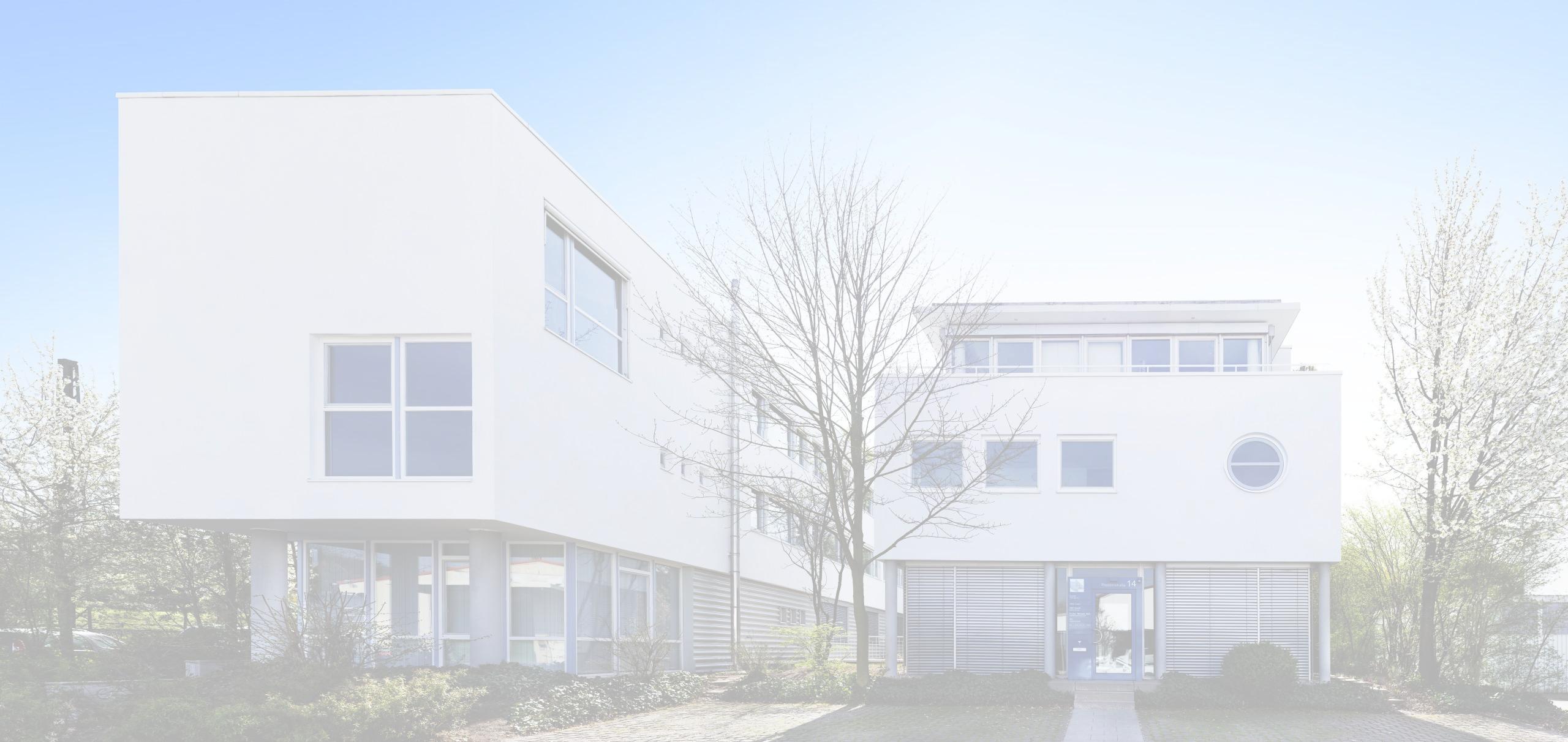 Der Standort des Büros in der Thaddenstraße in Weinheim